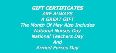 Gift certificates - Dr Kronberg